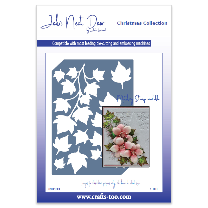 John Next Door Christmas Dies.John Next Door Christmas Dies Ivy Die Plate Jnd133 Card Making Craft Supplies
