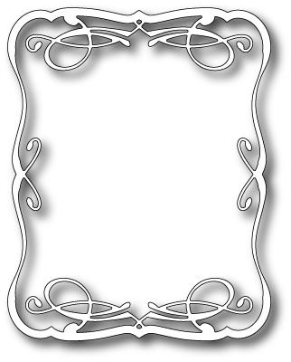 Memory Box Die Vaudeville Frame 98298 - Card Making & Craft Supplies